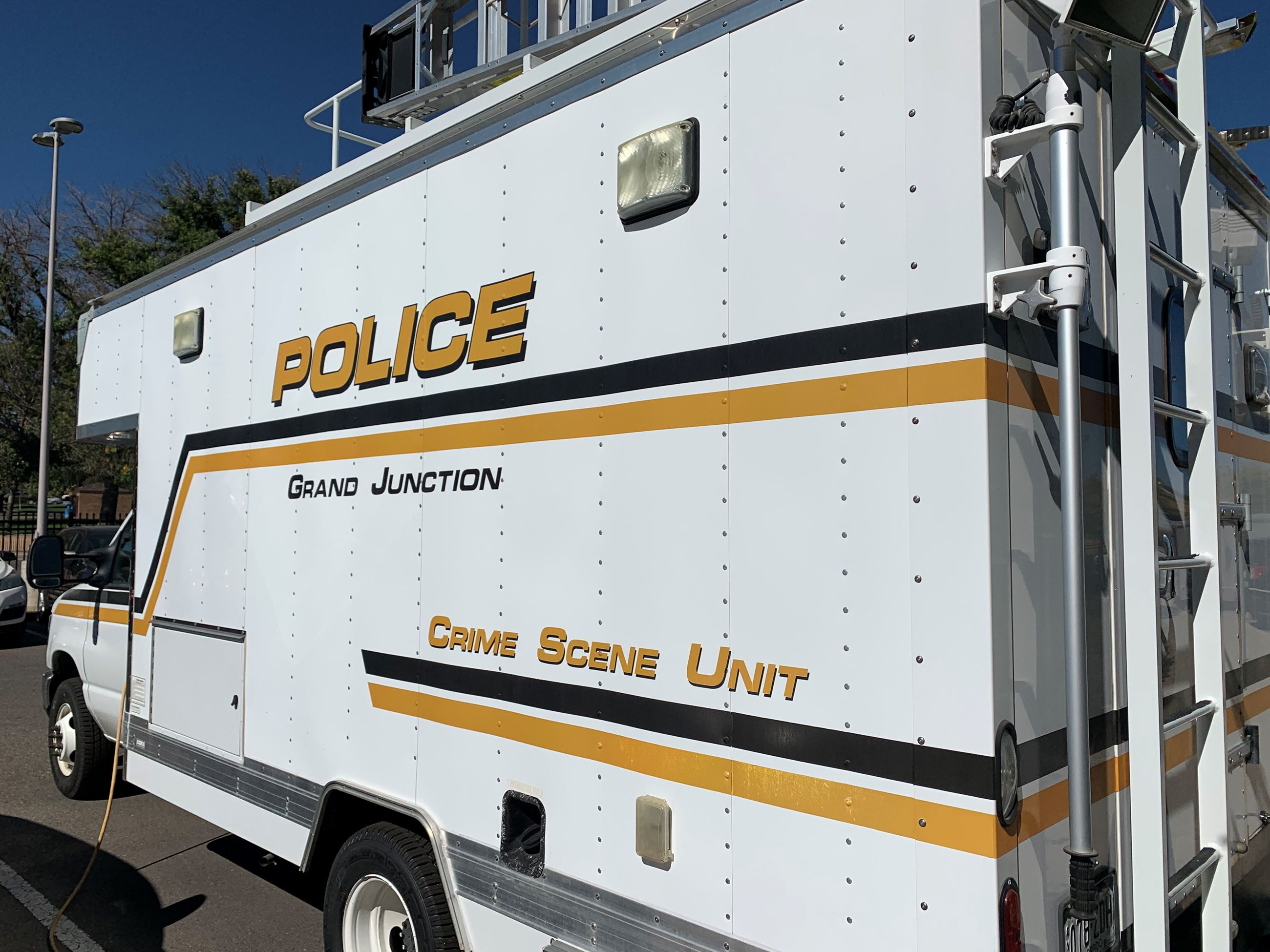 Grand Junction Police Department Property and Evidence Vehicle