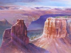 Colorado National Monument by Shirley Dickinson